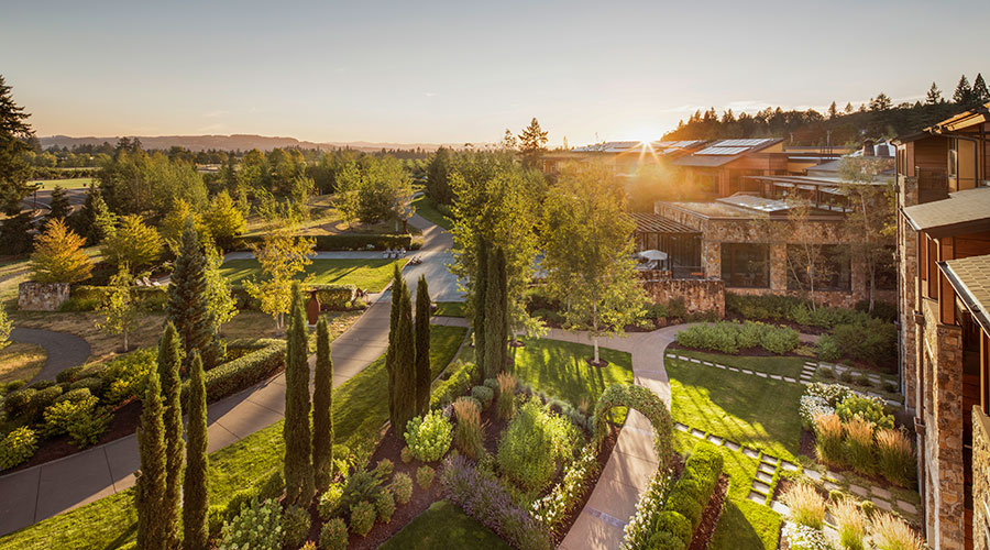 The Allison Inn and Spa In Willamette Valley, Oregon