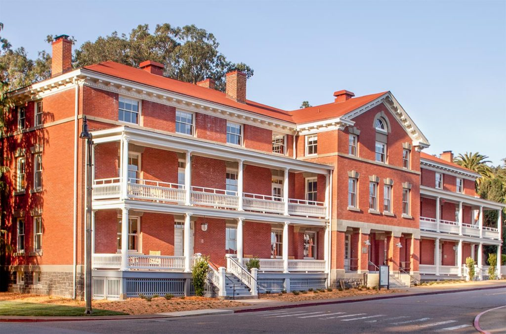 Inn at the Presidio Front Of Building
